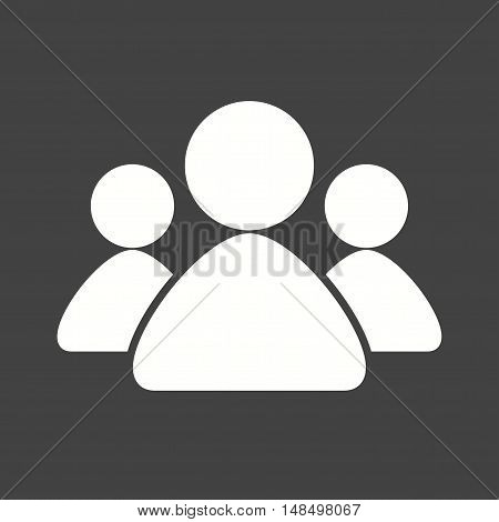 Meeting, conference, room icon vector image. Can also be used for startup. Suitable for web apps, mobile apps and print media.