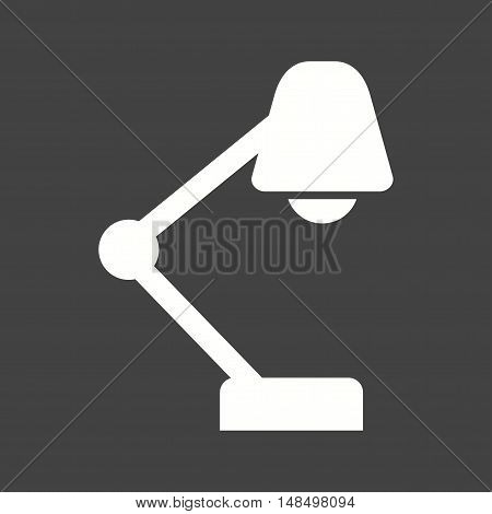 Lamp, table, night icon vector image.Can also be used for startup. Suitable for mobile apps, web apps and print media.
