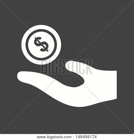 Islamic, finance, mosque icon vector image. Can also be used for islamic. Suitable for mobile apps, web apps and print media.
