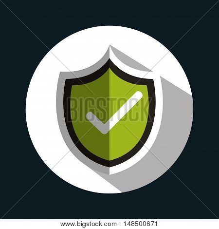 symbol checkmark ok graphic vector illustration eps 10