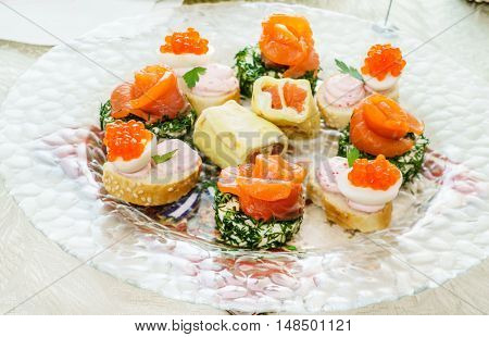 holiday canape
