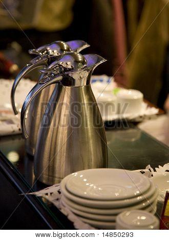 The coffee pots