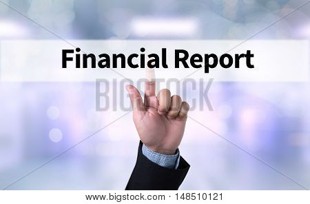 Financial Report   ( Money Cash Growth Analysis )