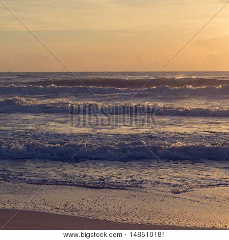 Beautiful Sea In The Morning