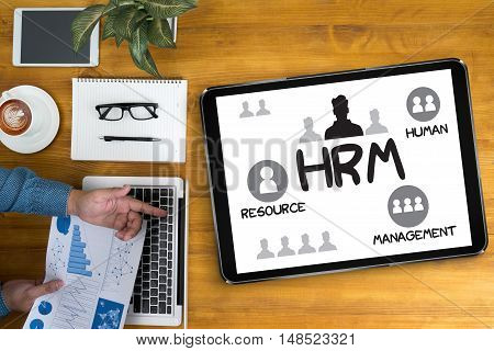 Hrm Human Resource Management  Strategy Planning Working Hrm Man