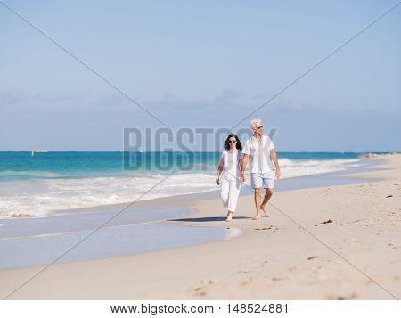 Walk along the waves