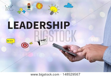 Leadership    ( Leader Leadership Manager Management Director )