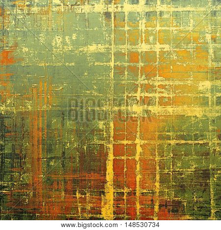 Retro design composition, grunge background or textured backdrop. With different color patterns: yellow (beige); brown; gray; green; red (orange); cyan