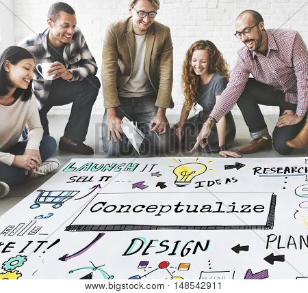 Conceptualize ideas Creative Design Invention Concept