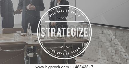 Strategize Tactics Vision Solution Development Concept
