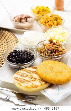Venezuelan Typical Food, Arepas