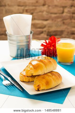 Venezuelan Typical Breakfast