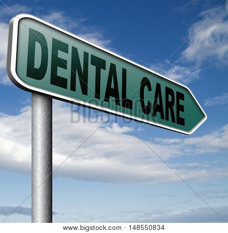 dental care center oral hygiene or surgery health insurance for healthy teeth without caries but with a beautiful smile with text 3D, illustration