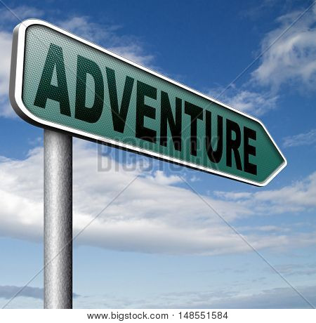 adventure travel and explore the world adventurous backpacking outdoors sport and nature vacation 3D, illustration
