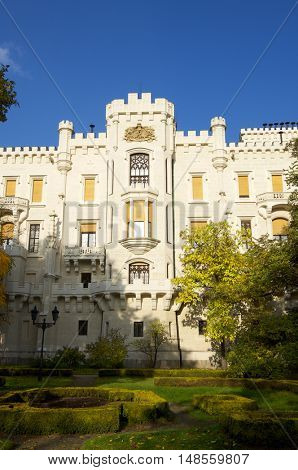 castle neogothic Hluboka nad Vltavou. Built in the thirteenth century and has undergone several renovations until now look like
