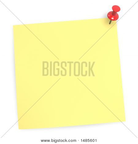 Sticky Blank Note