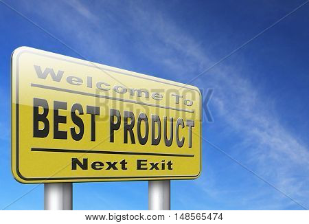 best product billboard road sign top quality guaranteed premium choice 3D, illustration