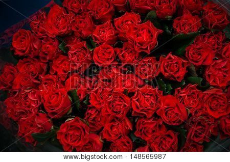 beautiful bouquet of red roses to your loved ones prazniki birthday valentines day wedding