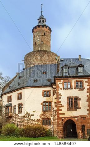 Budingan castle conducts the history since the 12th century Germany