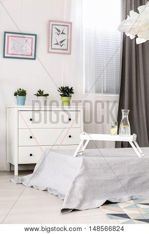 Beautiful Light Bedroom Idea