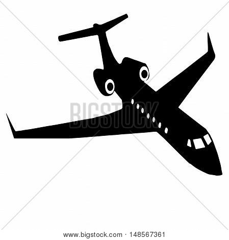 High quality aircraft isolated on white background