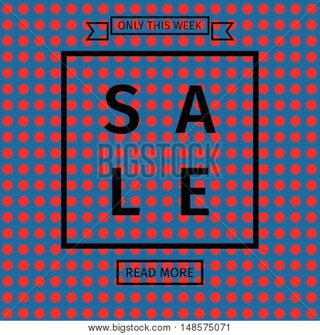 Sale templates with discount offer. Vector illustrations for social media banners, posters, email and newsletter designs, ads, promotional material, website and mobile website Geometric design