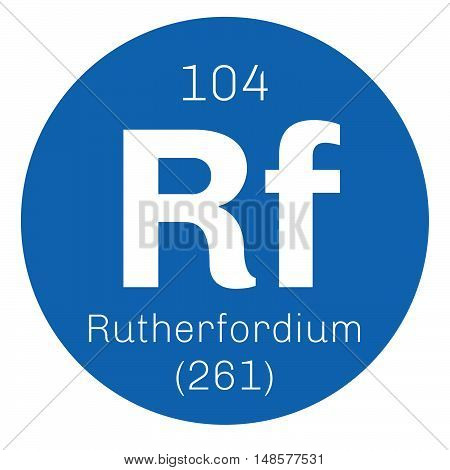 Rutherfordium Chemical Element