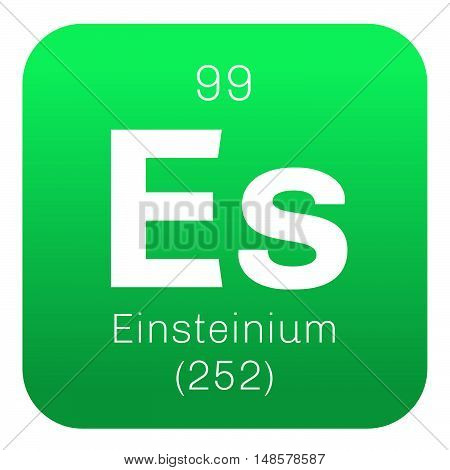 Einsteinium Chemical Element