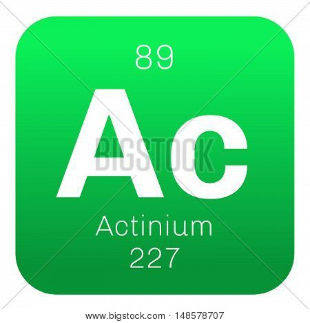 Actinium Chemical Element