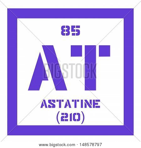 Astatine Chemical Element