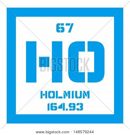 Holmium Chemical Element