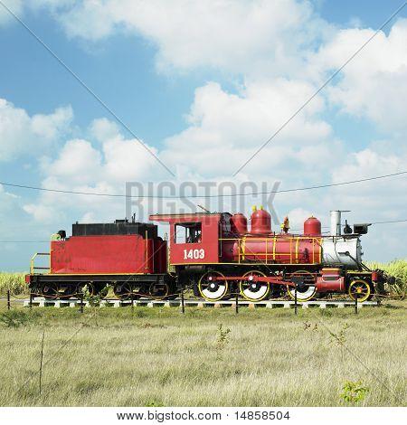 Memorial Of Steam Locomotive, Gregorio Arlee Manalich Sugar Fact