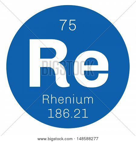 Rhenium Chemical Element