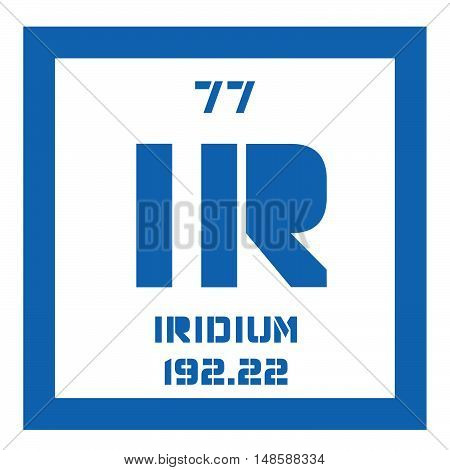 Iridium Chemical Element