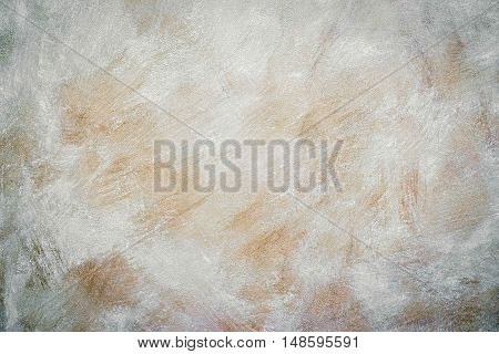 neutral beige cement wall background texture close up
