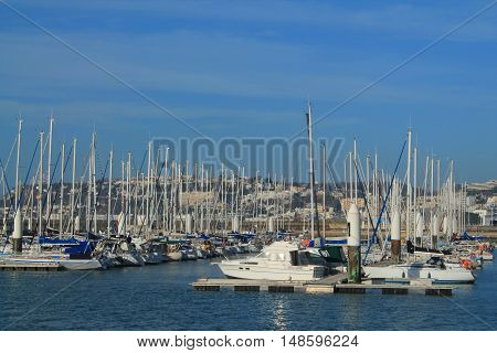Marina of Le Havre, urban French commune and city in the Seine-Maritime department in the Normandy region of northwestern France