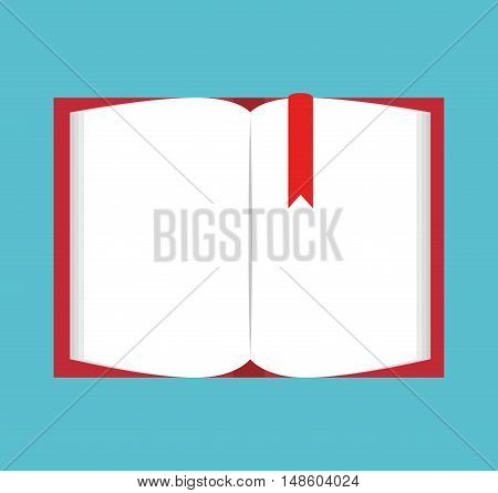 cartoon book open school design vector illustration eps 10