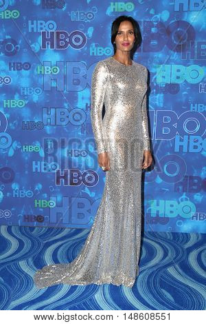 LOS ANGELES - SEP 18:  Padma Lakshmi at the 2016  HBO Emmy After Party at the Pacific Design Center on September 18, 2016 in West Hollywood, CA