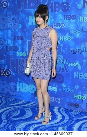 LOS ANGELES - SEP 18:  Maisie Williams at the 2016  HBO Emmy After Party at the Pacific Design Center on September 18, 2016 in West Hollywood, CA