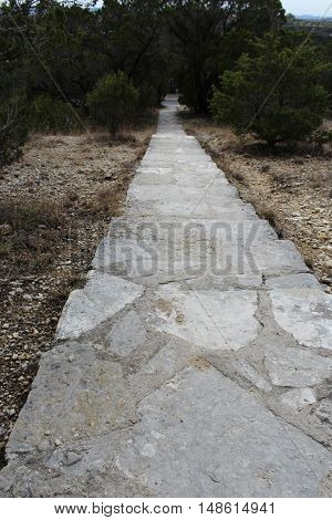 There is no other way; the stone path we must take.