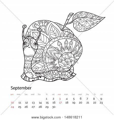 Zen Art Stylized Snail