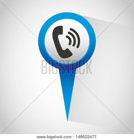 pin gps location icon vector illustration design