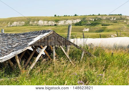 Scenic Farmstead in rural Southern Alberta Canada