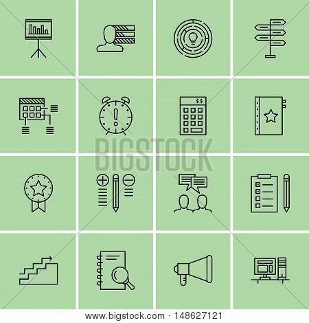 Set Of Project Management Icons On Promotion, Investment, Task List And More. Premium Quality Eps10