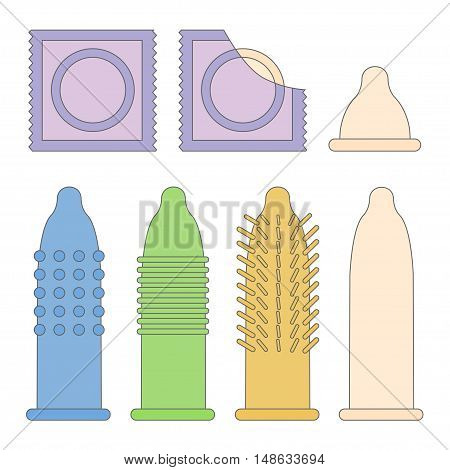 Condom Package Set