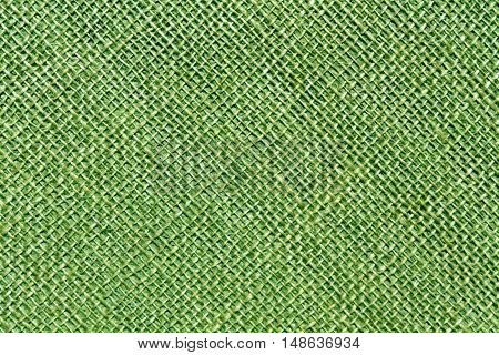 Green Sack Cloth Texture.