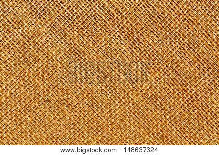 Orange Sack Cloth Texture.
