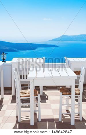 Beautiful Cafe With Sea View