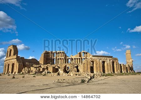 The Theatre of Sabratha, Libya