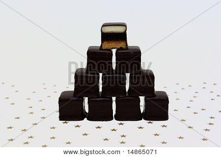 Wall Of Chocolates